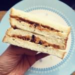 5分钟快手早餐——海苔肉松三明治