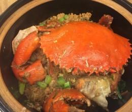 金沙蟹肉粉丝煲