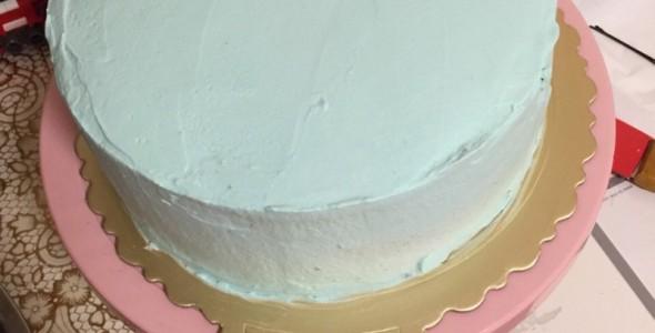 蛋糕 生日蛋糕 图解/1.不是为了传菜谱,只是为了记录自己的第一个裱花蛋糕,儿子一...
