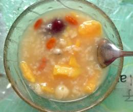 红薯莲子粥