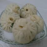 青菜香菇包子(入門級素包子)