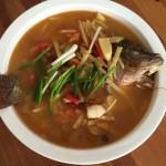 酸木瓜燉魚
