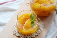 糖水黃桃(黃桃罐頭)