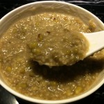 黑小米绿豆粥