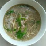 农家野菜汤
