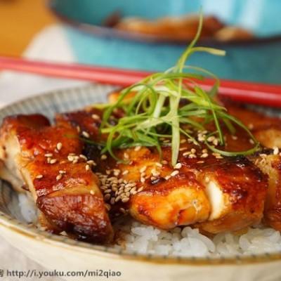 照烧鸡肉---内附视频(米饭杀手百分百)