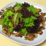 油醋汁蘑菇沙拉