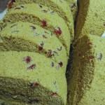 抹茶蔓越莓蛋糕卷