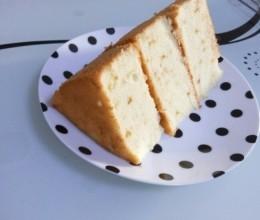 清新低脂柠檬戚风蛋糕