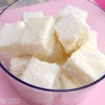 椰絲牛奶小方