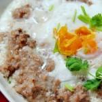 咸蛋蒸肉饼子(夏季家常菜)