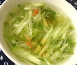 黄瓜凉菜汤(立秋特辑)