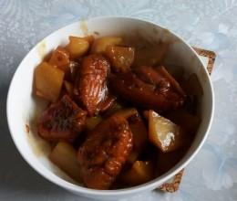 鸡翅中炖土豆