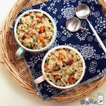 腊肠牛肝菌炊饭