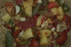 西红柿土豆饭