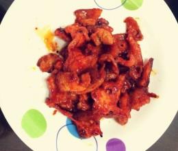 平底锅韩国烤五花肉
