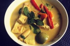 豆腐绿咖喱