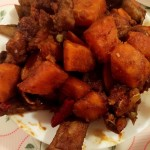 红薯烧排骨