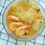 鲜虾冬瓜汤