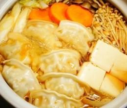 低卡向✿糖尿病✿脂质异常症可食——酸辣饺子锅
