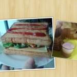 五分钟早餐三明治(懒人超简版)