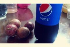 可乐百香果汁