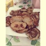 香蕉早餐小饼