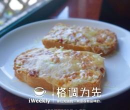 懒人料理之披萨风味金枪鱼罐头吐司(无烤箱版本)