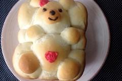 萌萌哒熊宝宝吐司~松下面包机版