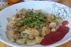 鸡蛋火腿洋葱饼
