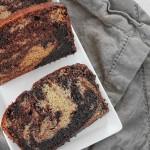 巧克力大理石纹香蕉蛋糕