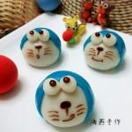 Q版~机器猫和萌萌猪冰皮包