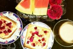 水果吐司片
