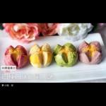 花开富贵之四种口味的椰蓉开口酥