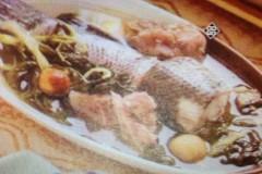 菜干生魚湯