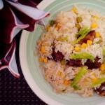 懒人的电饭煲焖饭-牛肉焖饭