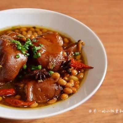 电饭煲版黄豆焖猪蹄