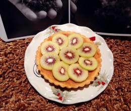 红心猕猴桃杏仁黄油派