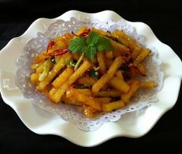 干煸土豆条(丝)