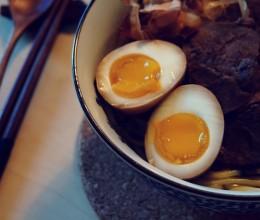 日式半熟味玉子(溏心鸡蛋)