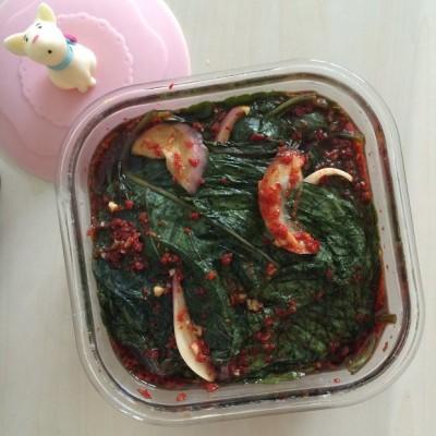 韩式苏子叶小菜