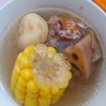 莲藕玉米汤
