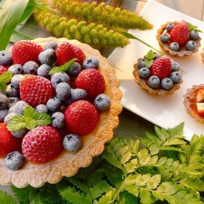 水果塔(蓝莓塔草莓塔)