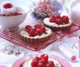 蓝莓&树莓奶酪派