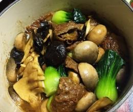 面巾菌菇煲