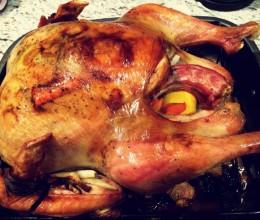 感恩节烤火鸡