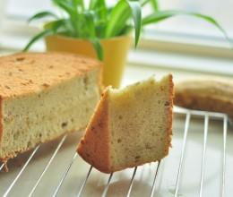 简单的材料做出香蕉戚风蛋糕(六寸)