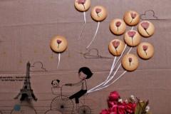 Bakingpie-风花雪月樱花饼干