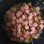 土豆香腸燜飯