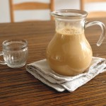 天 凉 就 是 要 喝 热 奶 茶